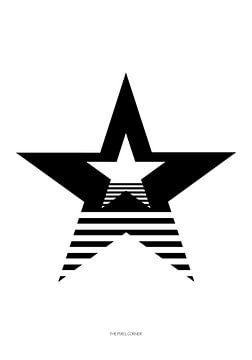 Sterne und Streifen von The Pixel Corner