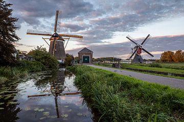 Molens bij Oud Zuilen Utrecht van André Russcher
