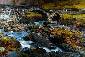 Ponte dei Salti - Lavertezzo - Zwitzerland van Felina Photography