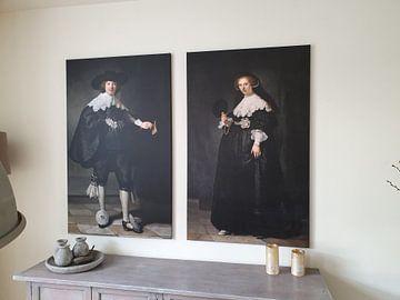 Klantfoto: Marten Soolmans van Rembrandt van Rijn