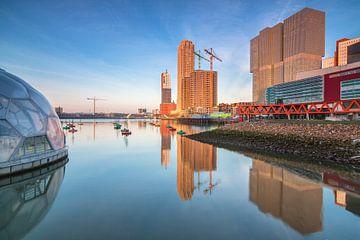 Rijnhaven reflecties von Ilya Korzelius