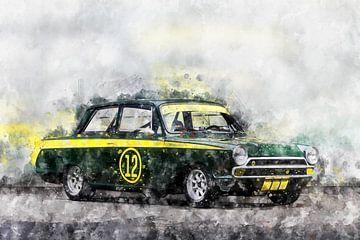 Ford Lotus Cortina von Theodor Decker