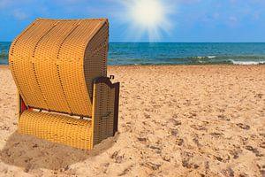 Baltic Sea beach chair van