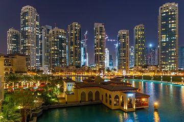 Dubai apparments near Burj Khalifa von Bob de Bruin
