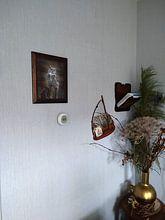 Klantfoto: Great Horned owl van Costas Ganasos, als fotoprint