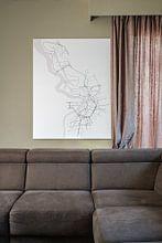 Photo de nos clients: Anvers sur Drawn by Johan, sur toile
