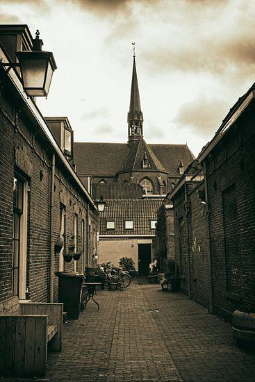 Moutstraat in Utrecht van Jan van der Knaap