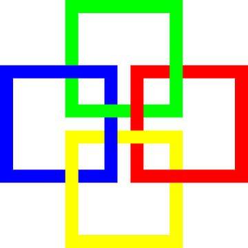 Onder en boven | Permutatie | ID=19 | V=01 | 4xO | P #01-W van Gerhard Haberern