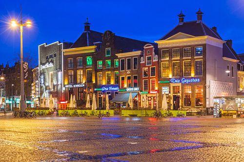 Sfeervolle Zuidwand Grote Markt Groningen van Frenk Volt