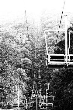 To the top (zwart-wit) van Fotografie Jeronimo