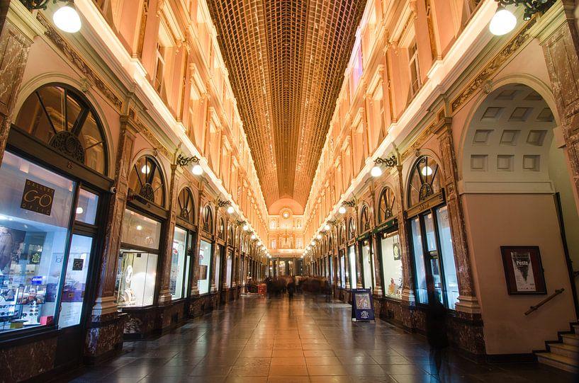 Winkelgalerijen Brussel van Mark Bolijn