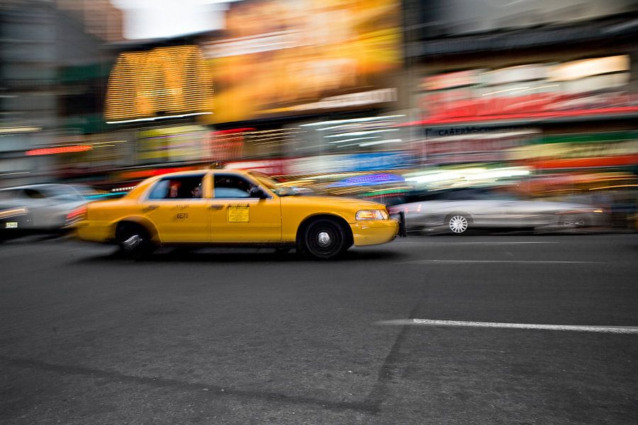 New York Taxi van Jean-Paul Wagemakers
