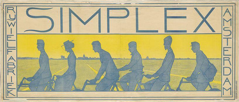 Simplex Snel Sterk, Ferdinand Hart Nibbrig, 1897 sur 1000 Schilderijen