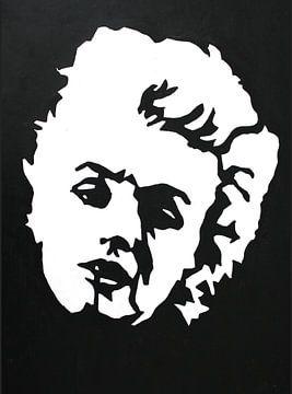 Marilyn Black and White sur Lucienne van Leijen