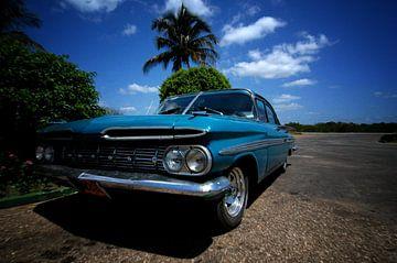 Oldtimer in Cuba #4 van Jurien Minke
