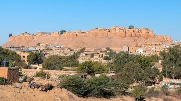 Jaisalmer: Fort Jaisalmer van Maarten Verhees