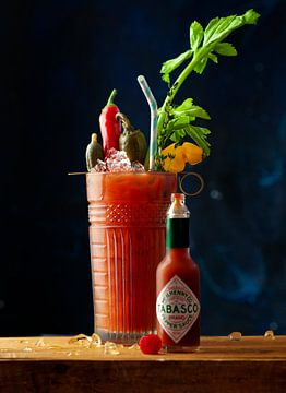Cocktail Bloody Mary sur Rose Mentink