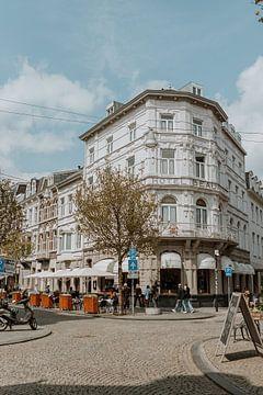 Stad Maastricht Wyck | Romantische architectuur | Stedenfotografie print van eighty8things