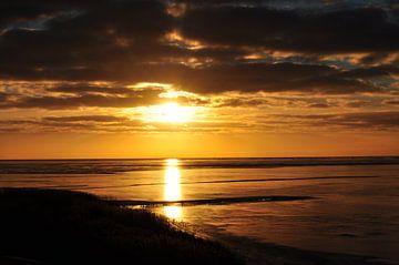 Zonsondergang van Joop Sipkema