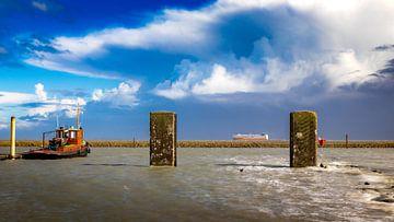 Storm in Zeeland van Fotografie in Zeeland