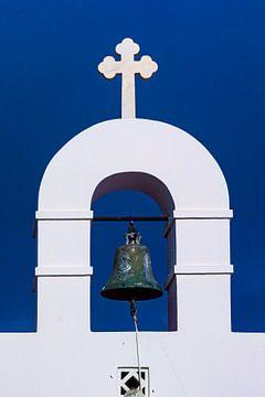 Glockenturm auf Mykonos, Griechenland von Adelheid Smitt