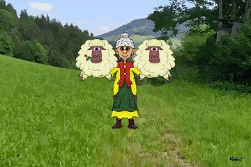 Conventionele veehouderij van HEUBEERE Cartoons