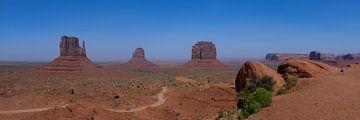 Ansicht des Monument Valley von Yannick uit den Boogaard