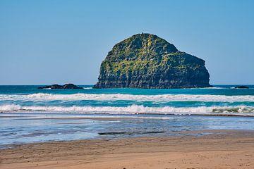 Gull Rock am Trebarwith Strand beach von C. Nass