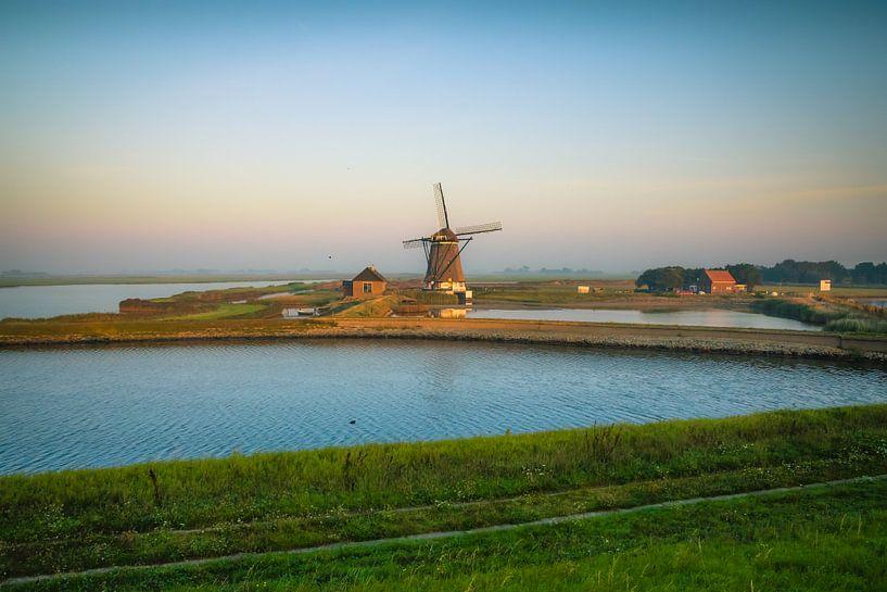 Molen Het Noorden. Mill the North. van Wilco Snoeijer