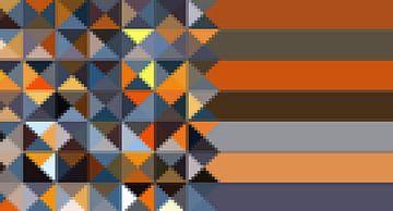 Triangle,Mosaik-Streifen sur Marion Tenbergen