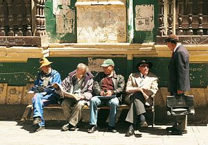Everyday life in La Paz  van Andrea Babilon