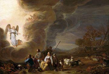 Die Verkündigung an den Schäfer Cornelis Saftleven