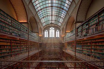 Bibliotheek Rijksmuseum Amsterdam von Foto Amsterdam / Peter Bartelings