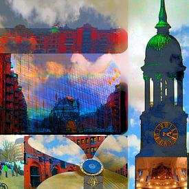 Collage HH van Peter Norden