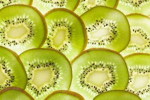 Schijfjes kiwi fruit