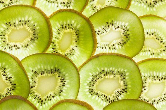 Schijfjes kiwi fruit van Beeldig Beeld