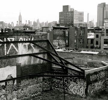 'Staal en steen', New York  van Martine Joanne