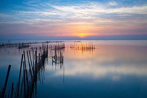 Prachtige zonsondergang van
