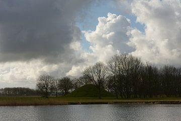 2018 art 43 Friesland Landschap van jan kamps