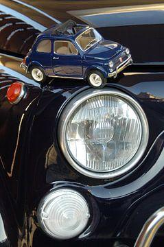 Fiat 500 1:1 en op schaal van Chris Gottenbos