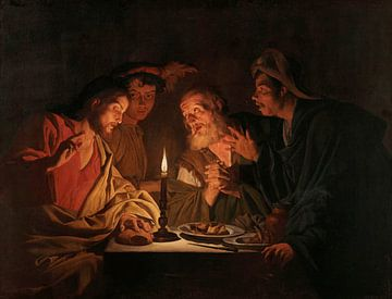 Abendessen in Emmaus, Matthias Stom