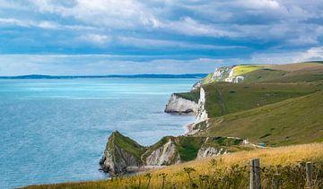 Krijtrotsen aan de Engelse Zuidkust, Jurassic Coast van