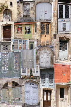 Franse antieke deuren van Mirjam van Ginkel