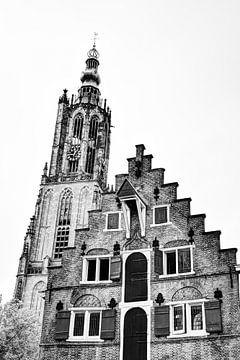 Amersfoort Utrecht Nederland Zwart-Wit van Hendrik-Jan Kornelis