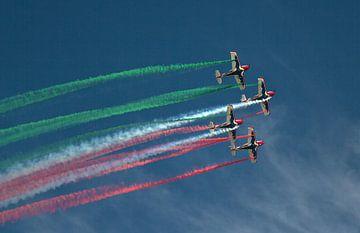 Vliegshow boven Barcelona von Ruud Lobbes