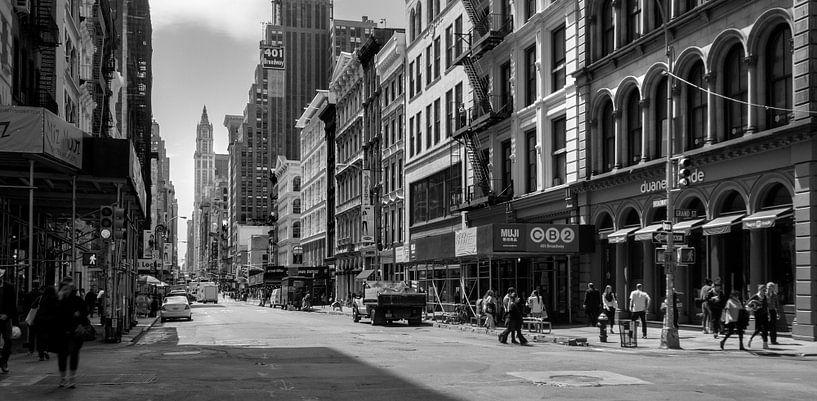 Broadway, New York van Ruurd Dankloff