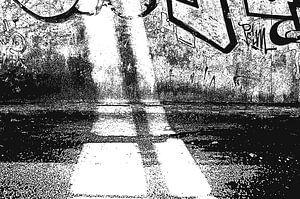 Lost Graffiti Bridge van