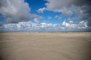 Wijdse strand Ameland van Ilse de Deugd