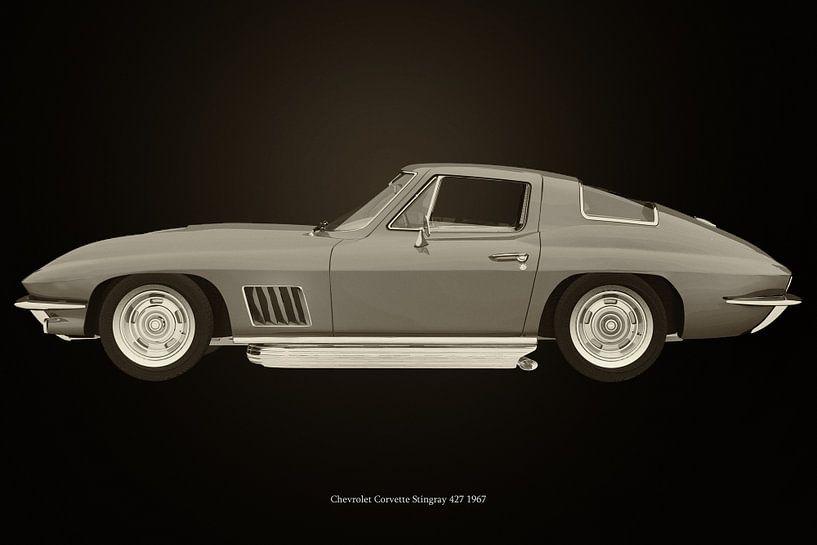 Chevrolet Corvette Stingray 1967 van Jan Keteleer