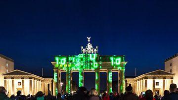 Brandenburger Tor Berlijn in een speciaal licht